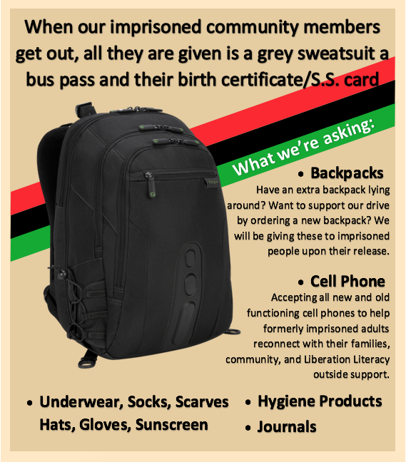 Learn more about the backpack drive